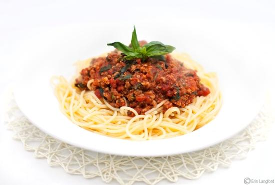 Spaghetti Pork Bolognaise