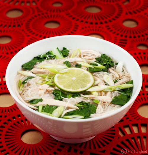Chicken Pho. Pho yummy.