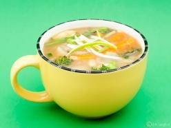 Spring Vegetable Risoni Soup