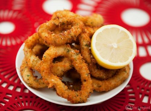 Gluten Free Zesty Calamari