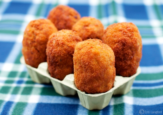 Grab your picnic basket Boo-Boo we've got Scotch Eggs