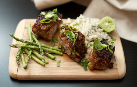 Lemongrass Baby Back Ribs