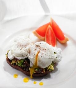 Mediterranean Poached Eggs